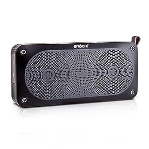 Envent LiveFree 370 ET-BTSP370-BK Wireless Portable Bluetooth Speaker: Envent LiveFree 370 (Black)