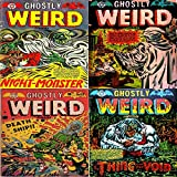 Ghostly Weird Stories. Issues 120, 121, 122 and 123. Night Monster , Death ship, thing from the void.