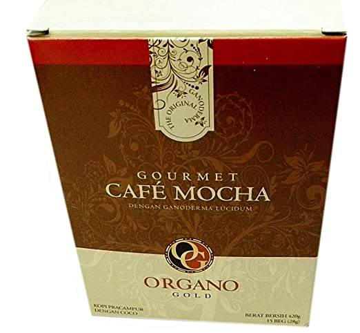 cafe mocha kitchen decor amazoncom organo gold gourmet cafe mocha 4 boxes coffee
