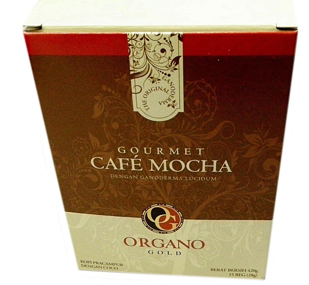 Organo Gold Gourmet Cafe Mocha (4 Boxes)