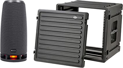 SKB 1SKB-R10 10U 10-Rack Space Ultimate Strength Black Molded Roto Rack Case