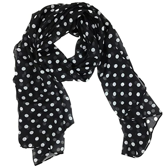 Vintage Scarf Styles -1920s to 1960s Tapp Collections™ Fashionable Soft Chiffon Scarf $9.69 AT vintagedancer.com