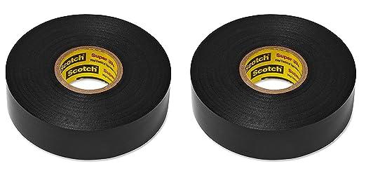 Scotch Super 33 Vinyl Electrical Tape 3//4 x 450 3M Pack of 4