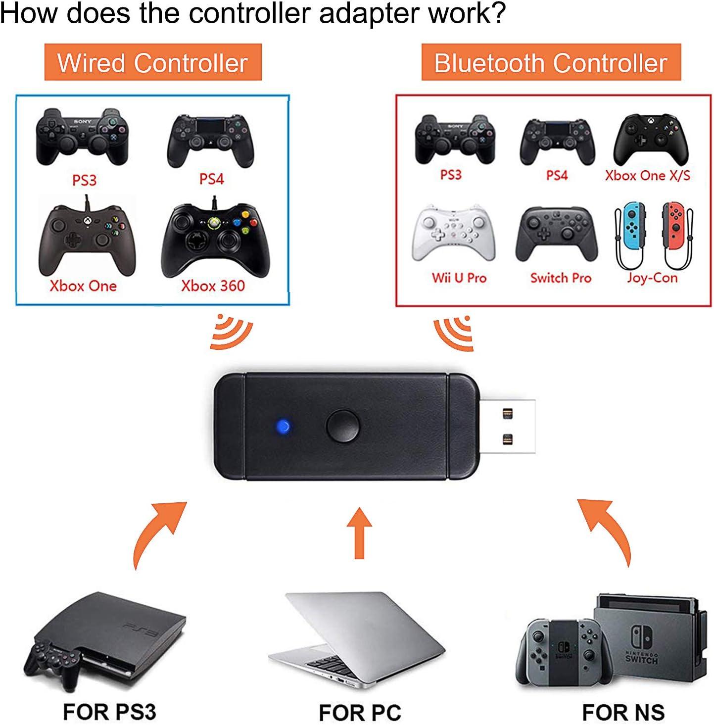 WOVELOT For Ps4 Headset Usb Dongle Adattatore Gamepad Controller Di Gioco per Console Portatile Stabile
