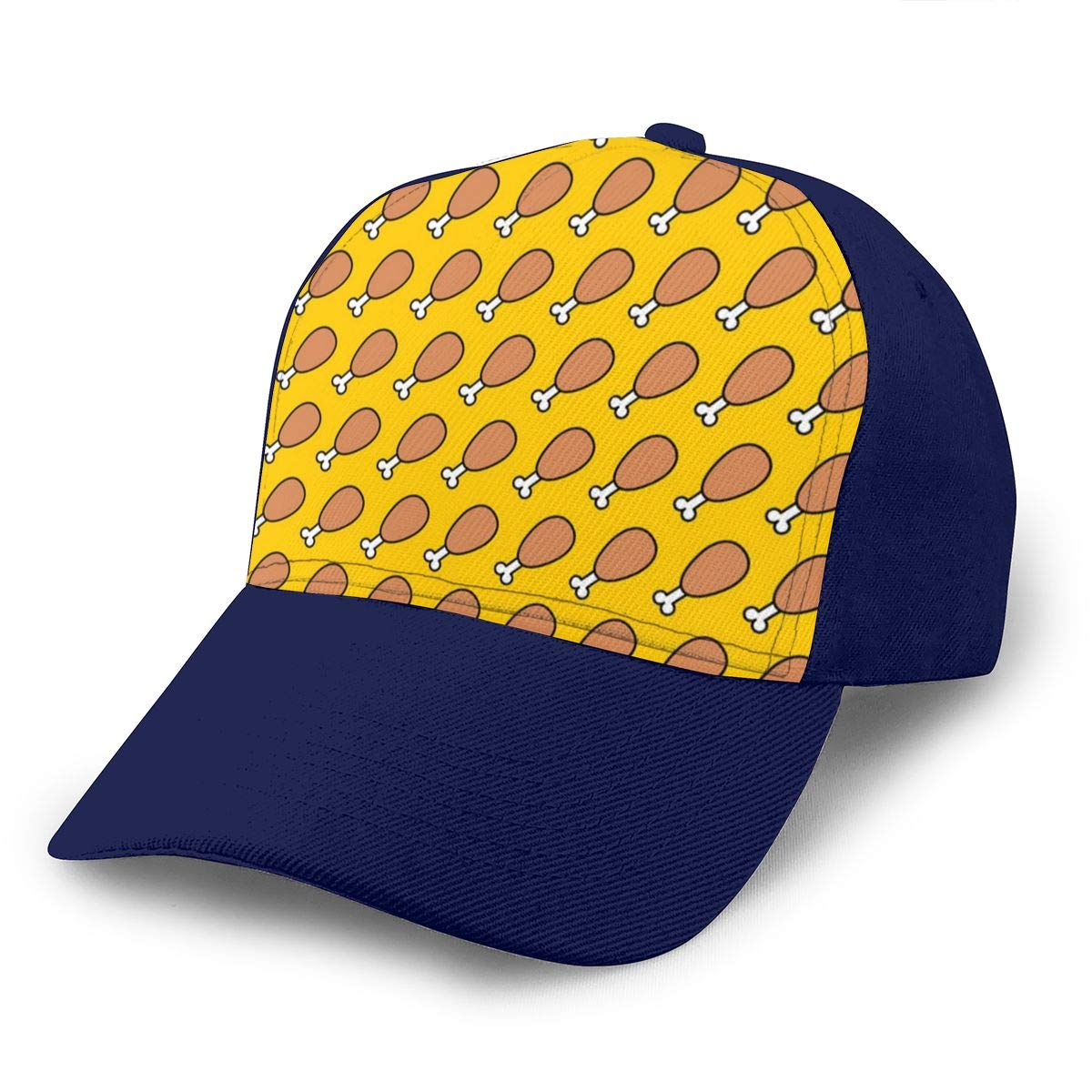 Classic Comfortable Cute Chicken Legs Adjustable Baseball Cap