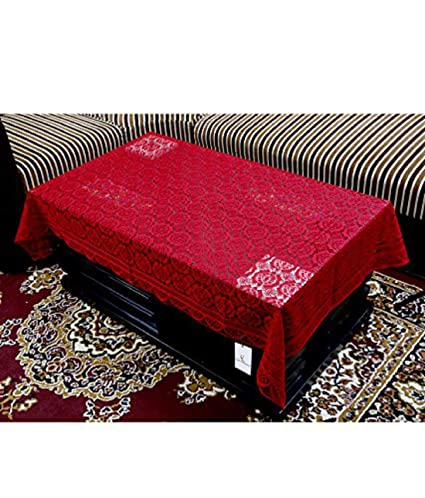 de340d5e0 Buy Kuber Industries Cotton Centre Table Cover Set - Maroon Online at Low  Prices in India - Amazon.in