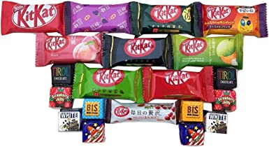 KITKAT japonés chocolate surtidos 20 pz kit kat & tirol sabores diferentes: Amazon.es: Alimentación y bebidas
