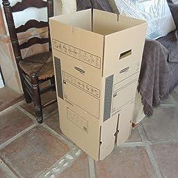 Bankers Box 6206702 - Caja de transporte y mudanza, pequeño ...
