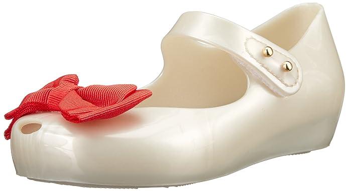 Amazon.com: mini melissa Ultragirl dulce Mary Jane plana ...