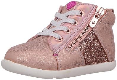 Step   Stride Infant Girl s Zoe Glitter High Top Sneaker d217845a1