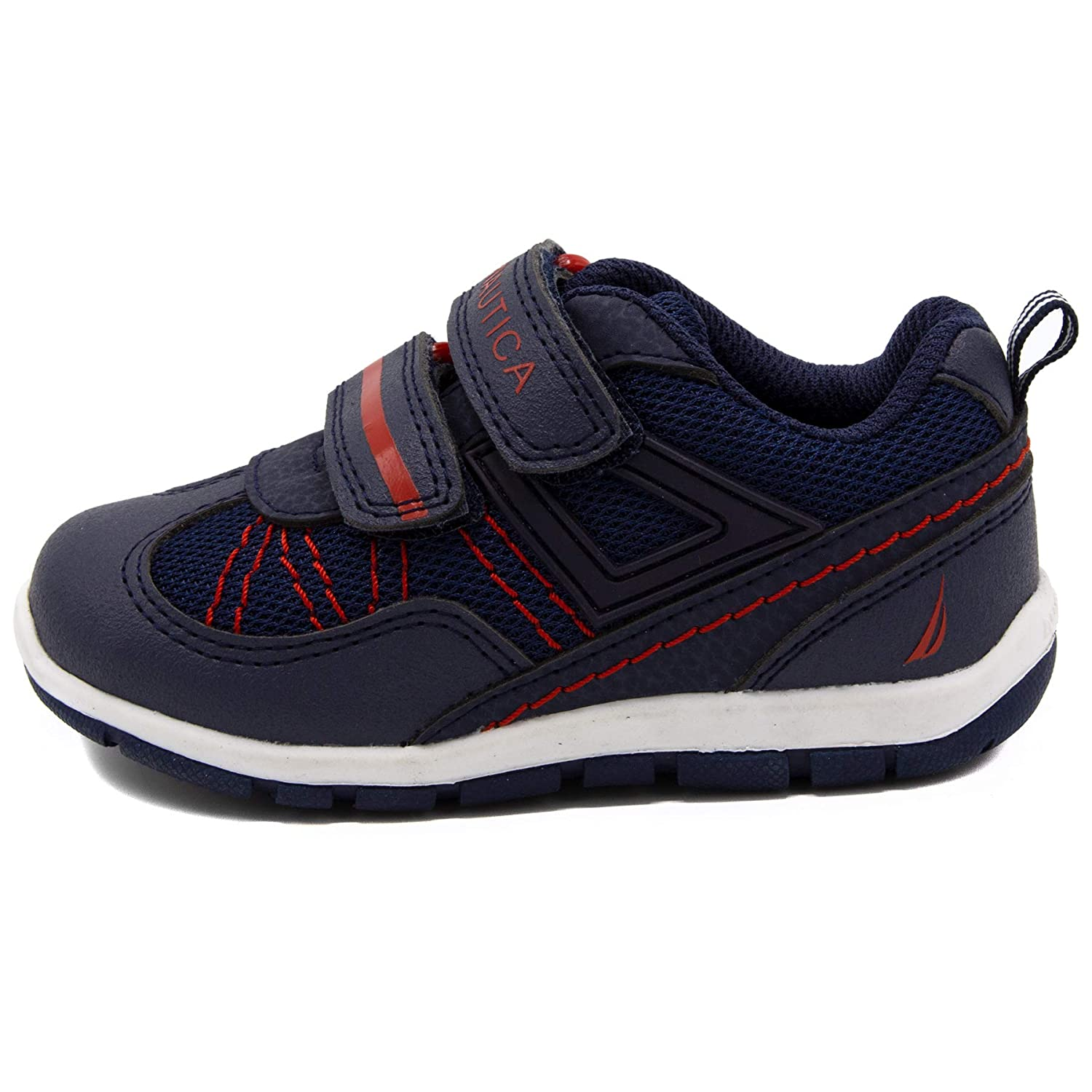 Toddler//Little Kid Nautica Kids Sneakers Double Strap Casual Athletic Shoes