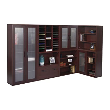 Amazon.com: safco products 9440 CY Apres Mahogany – Librería ...