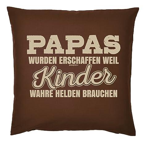 Art & Detail Shirt Cojín: Papa Dad Día del Padre Papas se ...