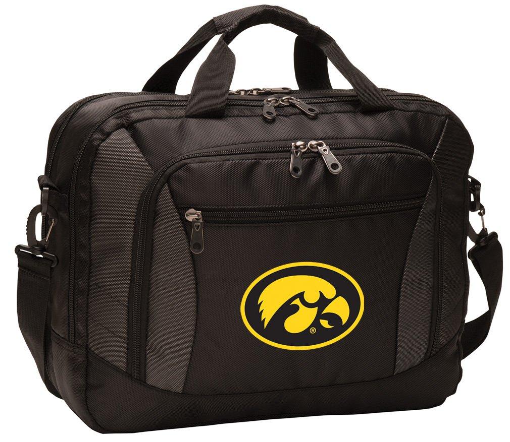 Broad Bay University of Iowa Laptop Bag Best NCAA Iowa Hawkeyes Computer Bags
