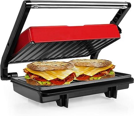 3 in 1 Sandwichmaker Sandwichtoaster Kontaktgrill 750W Elektrogrill Tischgrill