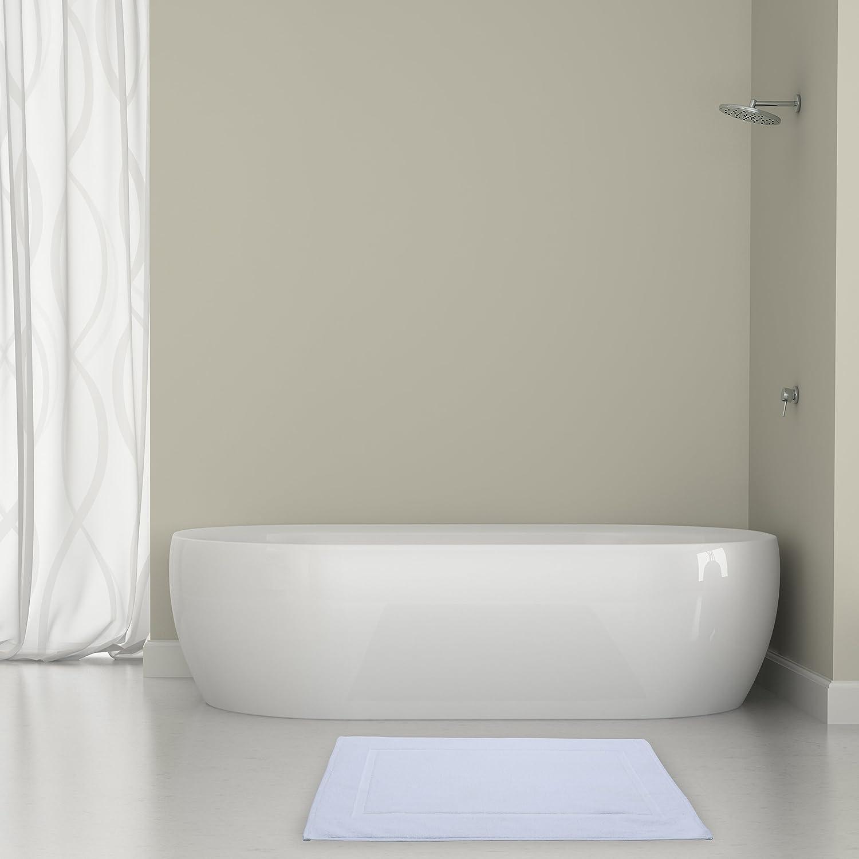 Amazon.com: Alurri Bath Mat - 2 Pack - Machine Washable Cotton ...