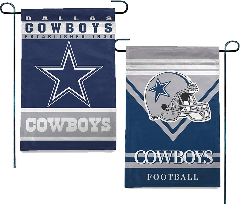 Stockdale Dallas Cowboys Garden Flag 2 Sided Forecourt Decorative Seasonal Flag for Home