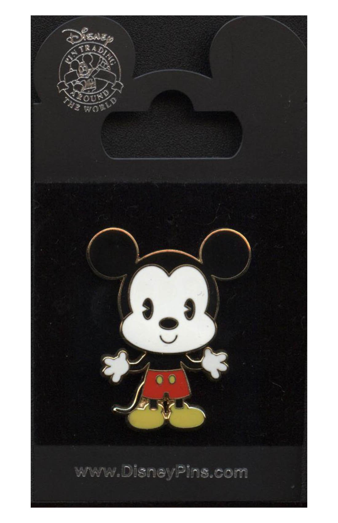 Disney Pin #36813: Cuties Collection - Mickey Mouse (Bobble)
