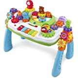 VTech GearZooz 2-in-1 Jungle Friends Gear Park (Frustration Free Packaging), Multicolor