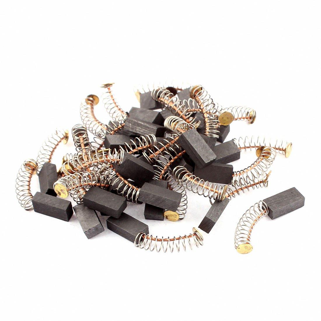 sourcingmap® 12mm x 6mm x 4mm Escobillas de carbón del motor 30 pcs para Motor Eléctrico genérico