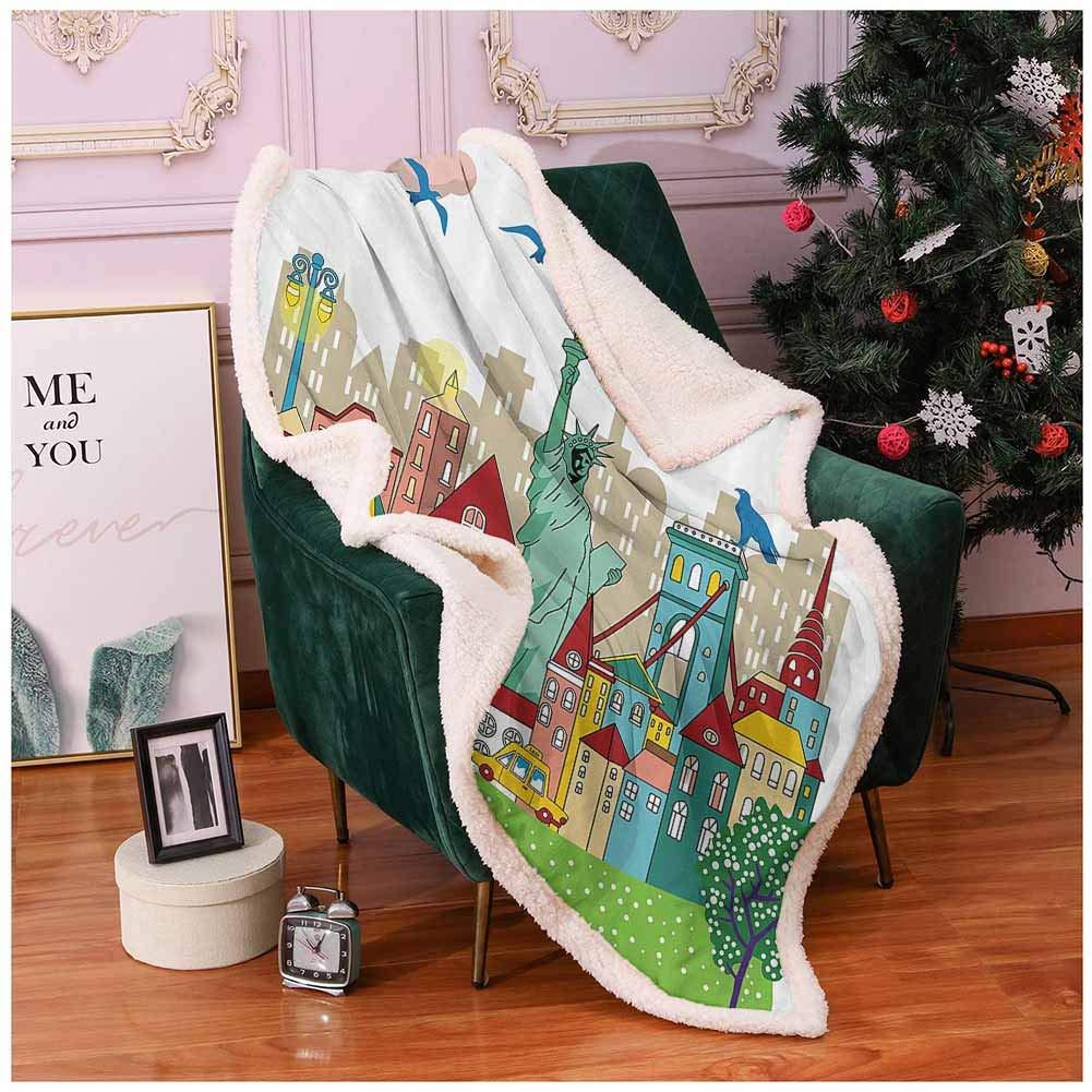 Newborn Baby Luxury Soft Plush Fleece Blanket Multi-color For Christmas Gift Set