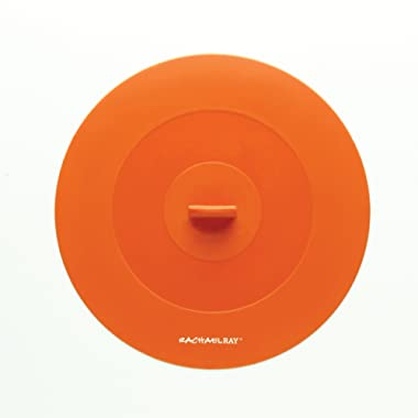 Rachael Ray Accessories 9.25-Inch Top This! Suction Lid, Orange