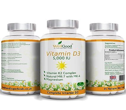 ESPECIAL lanzamiento Precio ** vitamina K2 con alta fuerza vitamina D3 5.000 UI