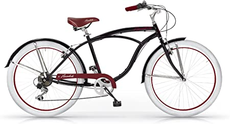 MBM HONOLULU MAN HOMBRE CRUISER CUSTOM 26 BICYCLE BIKE BICICLETA ...
