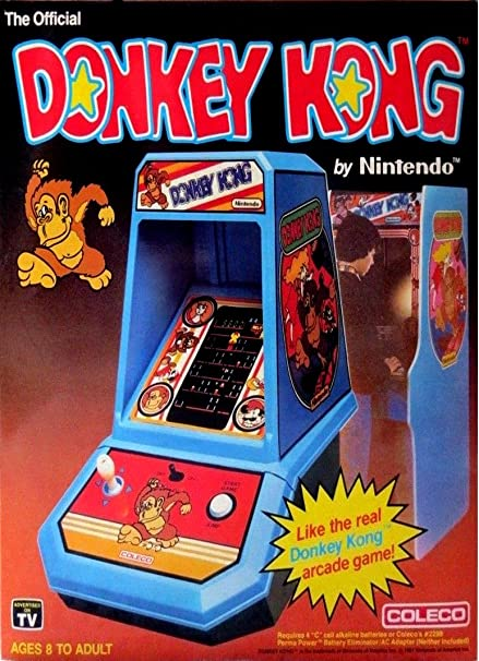 Amazon com: DONKEY KONG ART VINTAGE 2