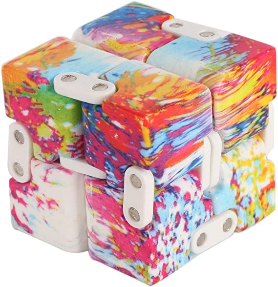 Relieve Stress and Anxiety Cool Hand Mini Kill Time Toys Infinite Cube for Add ADHD Plceo Infinity Fidget Kids and Adults