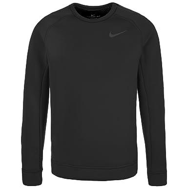 0fb037c345 Nike Therma Sphere Max Performance Crew Training Sweatshirt - Black -  X-Large