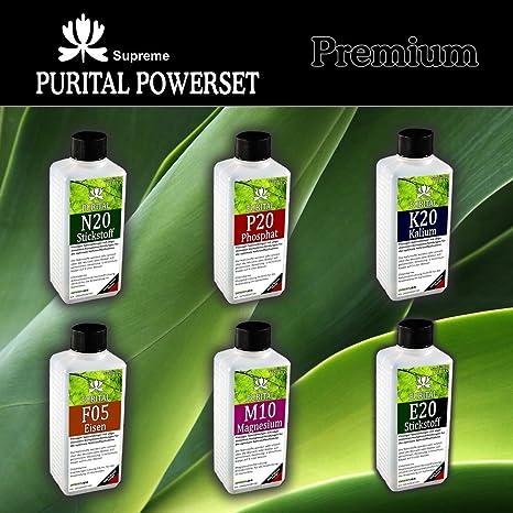 Purital Set Premium, Fertilizante Líquido para propias mezclas n + P + K + MG