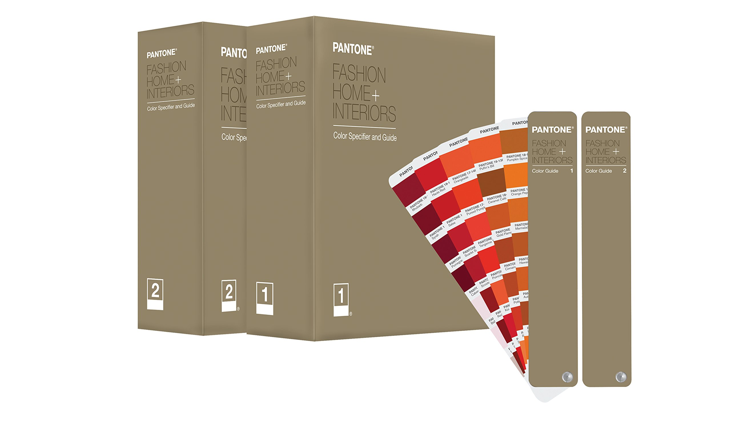 Buy Pantone Fashion + Home, Interiors Color Specifier U0026 Guide Set Book  Online At Low Prices In India | Pantone Fashion + Home, Interiors Color  Specifier ...
