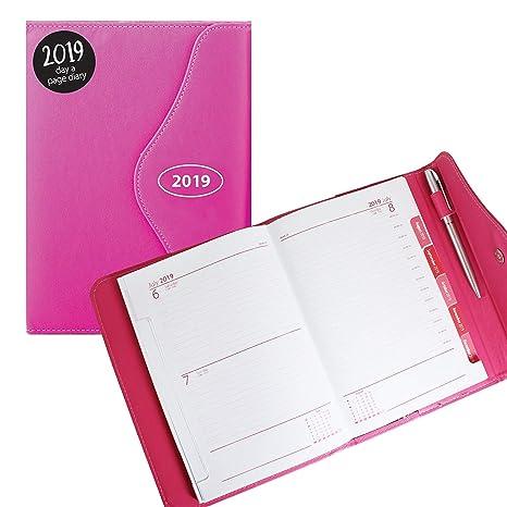 2019 - Agenda (A6, cierre magnético, poliuretano), color ...