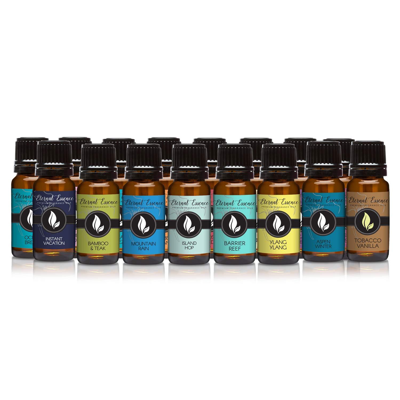 Vacation State of Mind - Set of 16 Premium Fragrance Oils - Eternal Essence Oils