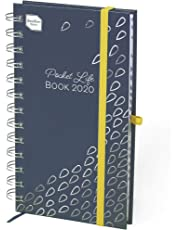 Boxclever Press Pocket Life Book Diary 2019-2020. Slimline Week-to-View Academic Diary 2019-2020, Running mid-August'19 to December'20. Ideal Weekly Planner Pocket Diary.