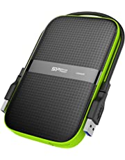 """Silicon Power - Disco Duro Externo portátil para PC y Mac Armor A80 DE 1 TB (2.5"""", USB 3.0, SATA III)"""