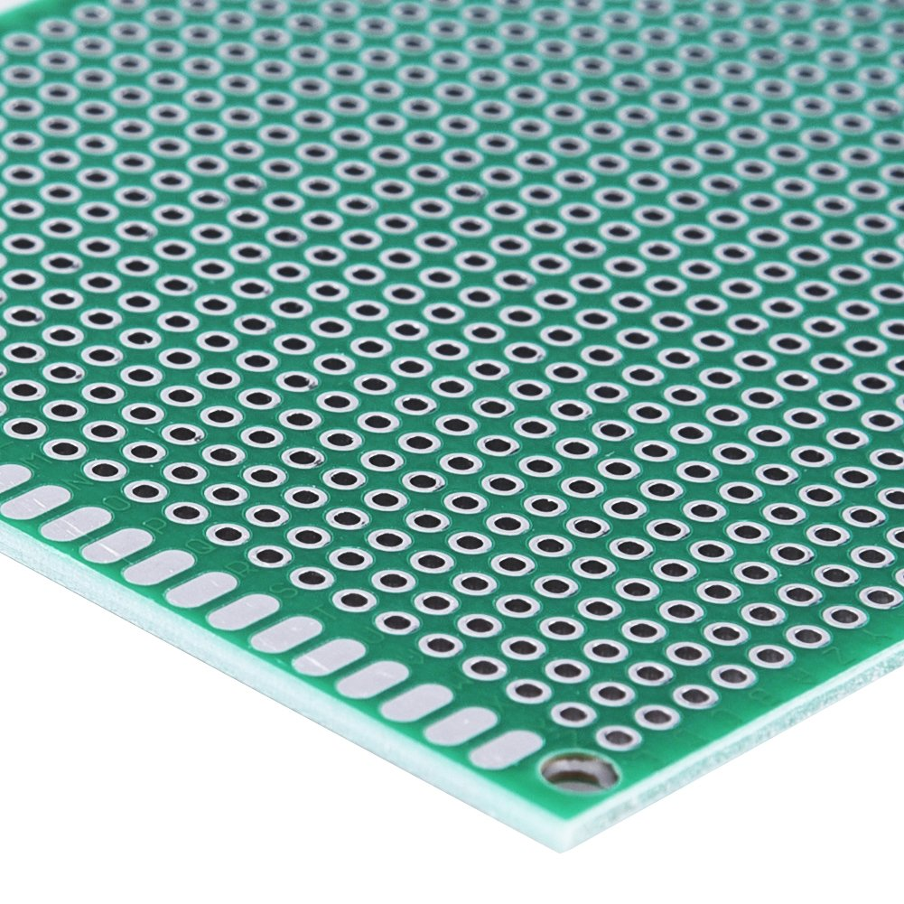 Austor 36 Pieces Double Sided Pcb Board Prototype Kit 5 Sizes Doubleside Universal Printed Circuit Electronics Protoboard With