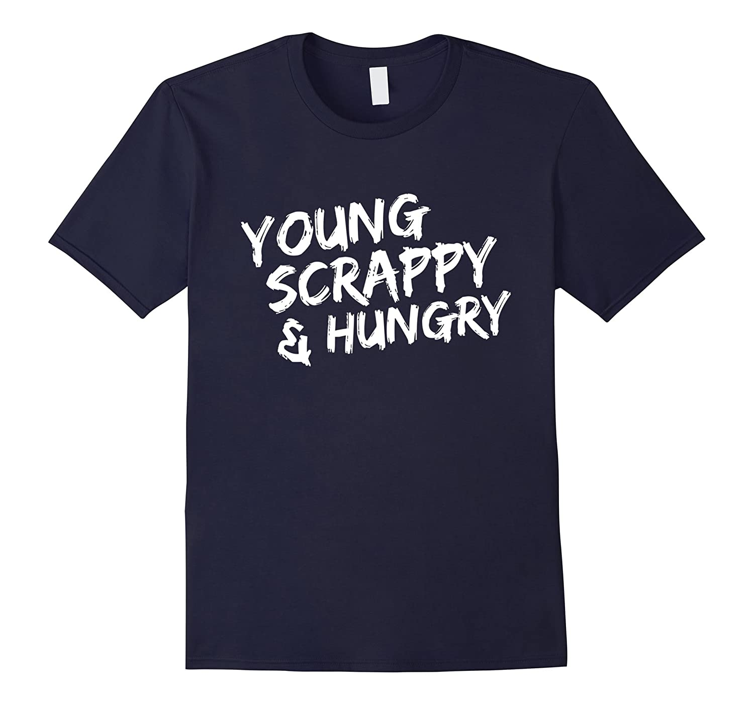 Young Scrappy And Hungry Musical Fan T-Shirt-Art