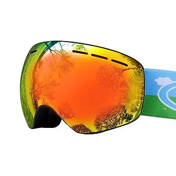 Amazon.com: Ubelly - Gafas de esquí para niños, snowboard ...