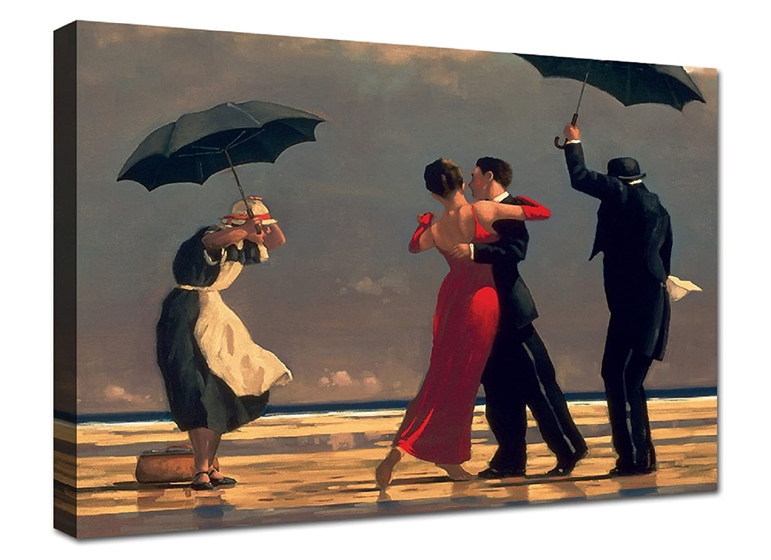 Quadri moderni Stampa su tela canvas in cotone Jack vettriano singing butler cm 100x70 canvashop