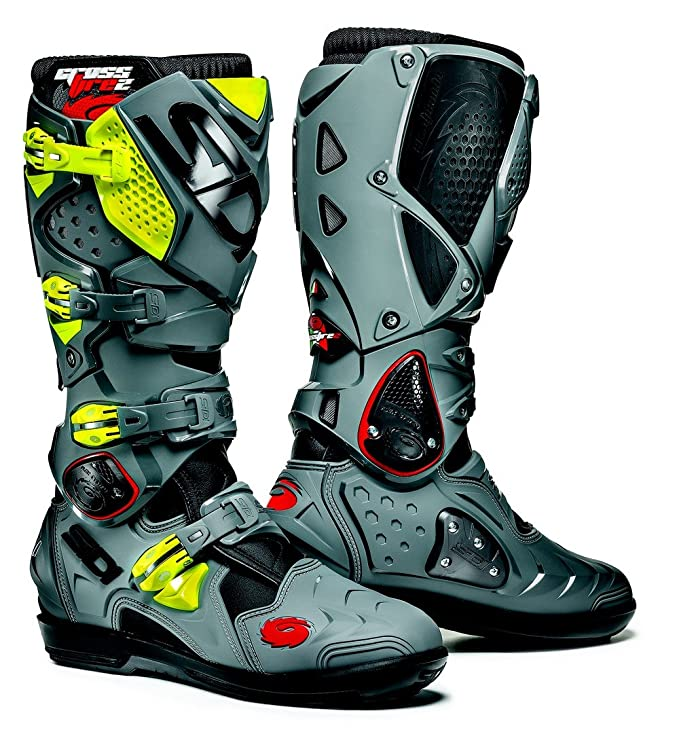 Black//Red Sidi ST Motorcycle Boot Size 40,52425-40-105