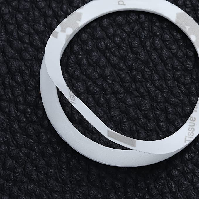 rosa WINOMO Auto Motor Start Stop Button Ring Kristall Bling Rhinestone Auto Dekor Zubeh/ör