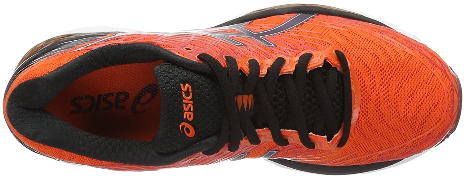 Asics , Gel Nimbus 18 course , Chaussures 18 de course pour hommes , Orange (Flamme 5e61cd2 - sbsgrp.website