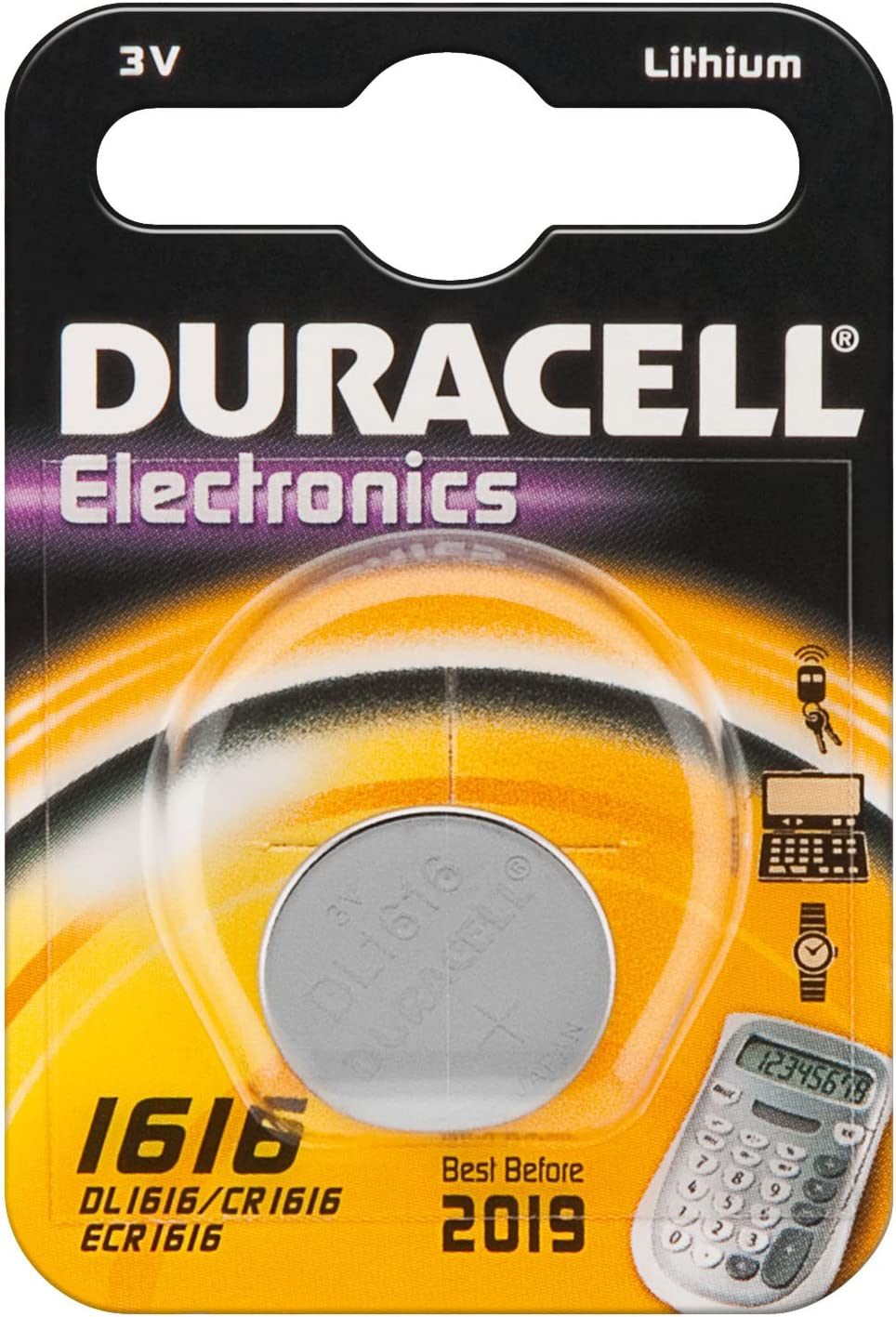 Duracell Lithium Knopfzelle Cr1616 Dl1616 5021lc Kamera
