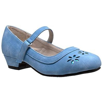 Amazon.com: sobeyo niños zapatos de vestir Mary Jane Niñas ...