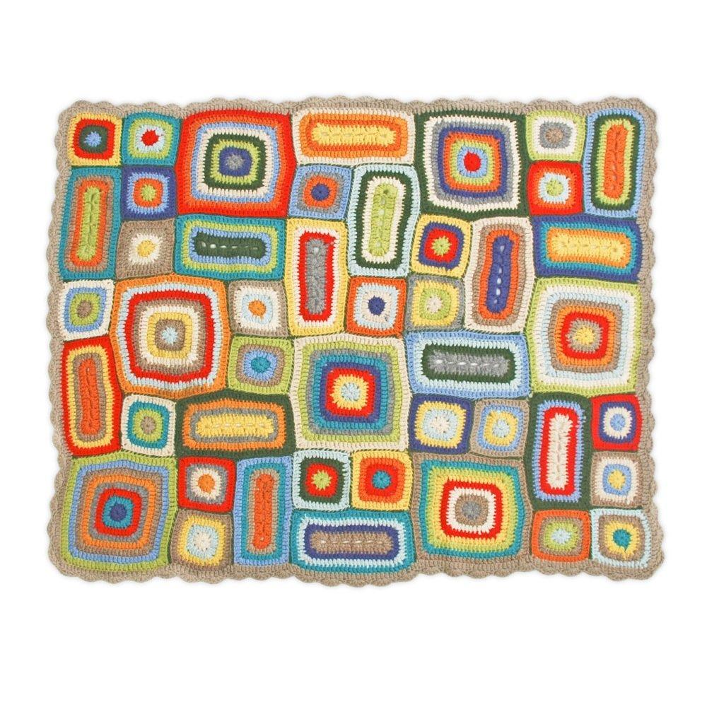 Weegoamigo Crochet Blanket Rupert