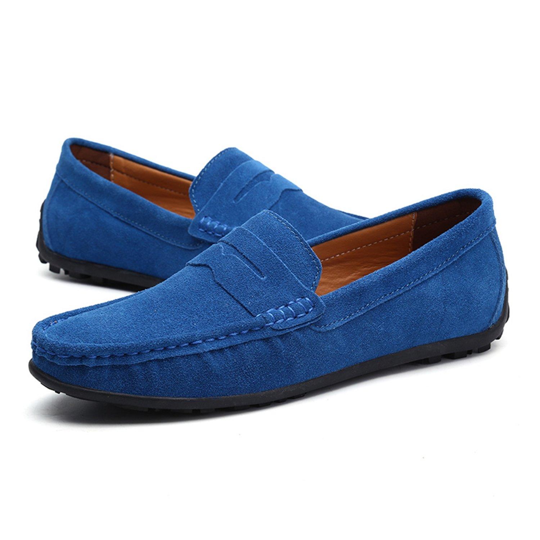 Nomioce - Sandalias con Cuña Hombre 39 EU=43 EU=26.5 cm|Azul