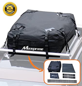 Rooftop Cargo Bag Maxxprime 100 Waterproof Soft Roof Top Luggage Carriers With Protective