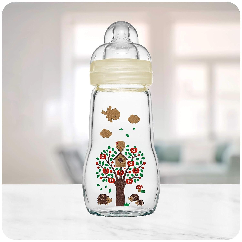 MAM Feel Good Glass Bottle